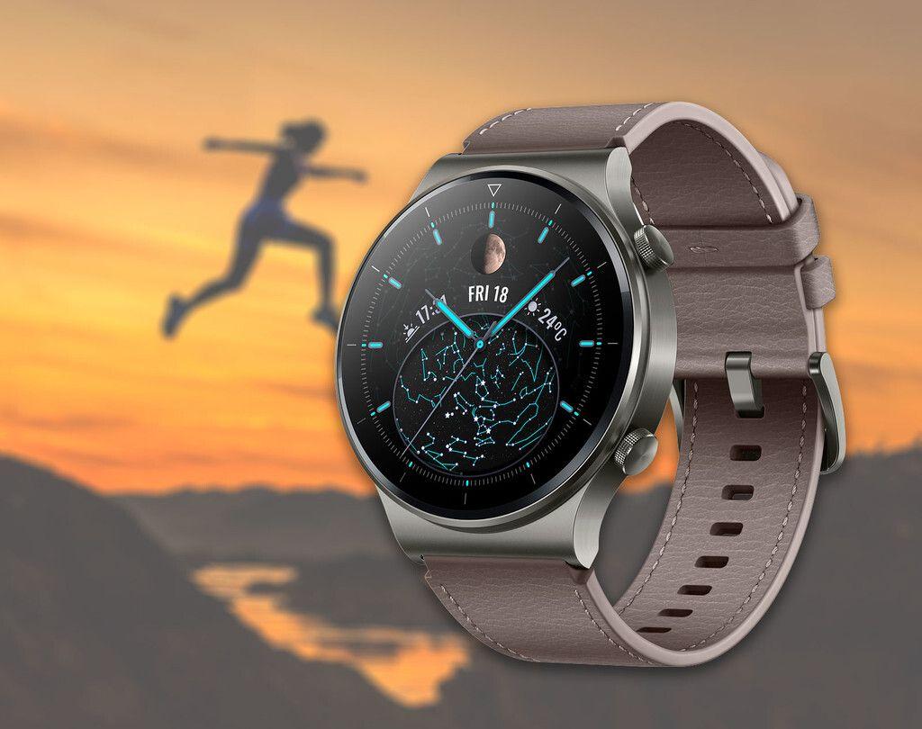 El Nuevo Smartwatch Huawei Watch Gt 2 Pro Está De Oferta De Lanzamiento En Amazon Con Los Auriculares Freebuds 3i Por 2 Smartwatch Auriculares Software Android