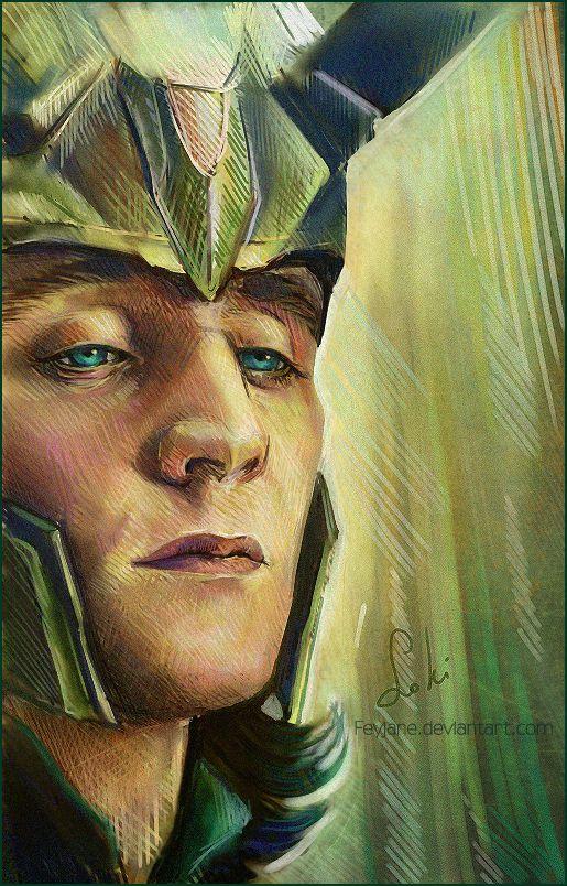 Loki  by ~Feyjane  Fan Art / Digital Art / Drawings / Movies  TV. this is too good