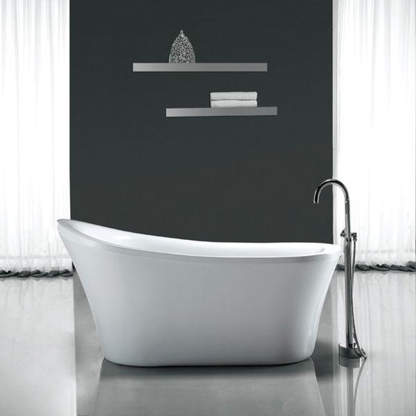 Ove Decors Rachel 70 Inch Freestanding Soaking Tub Overstock