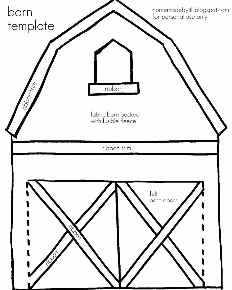 Big+Red+Barn+Coloring+Pages | barn animals colouring pages | Farm ... | 1147x918