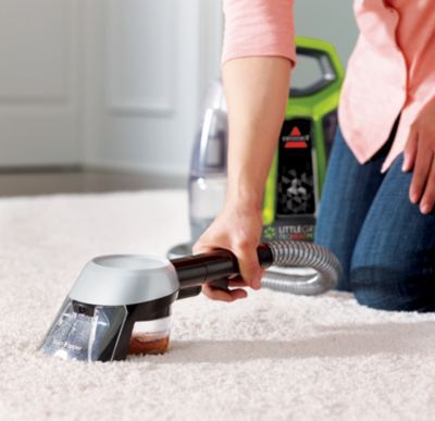 Bissell 9749f Little Green Proheat Pet Deluxe Carpet Cleaner Green Gray Cleaning Hacks Carpet Cleaners House Cleaning Tips