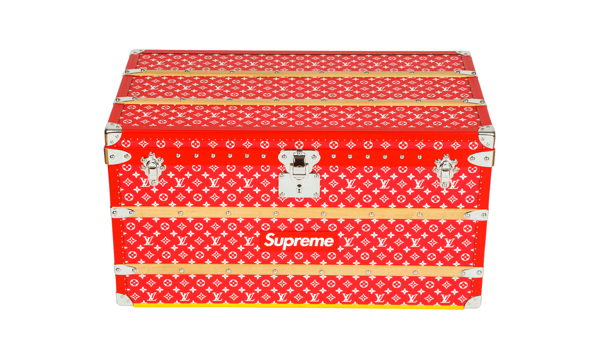 c9f5e119f0a Louis Vuitton x Supreme Malle Courrier 90 Trunk Louis Vuitton Trunk