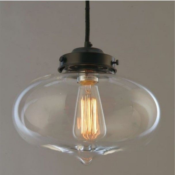 Design Suspension 1xe27 CerroLuminaire Transparente Elliptique thQrCsd