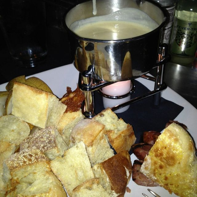 "Three cheese fondue aka ""The Kilt Lifter"" at Citizen Public House in Scottsdale, AZ"