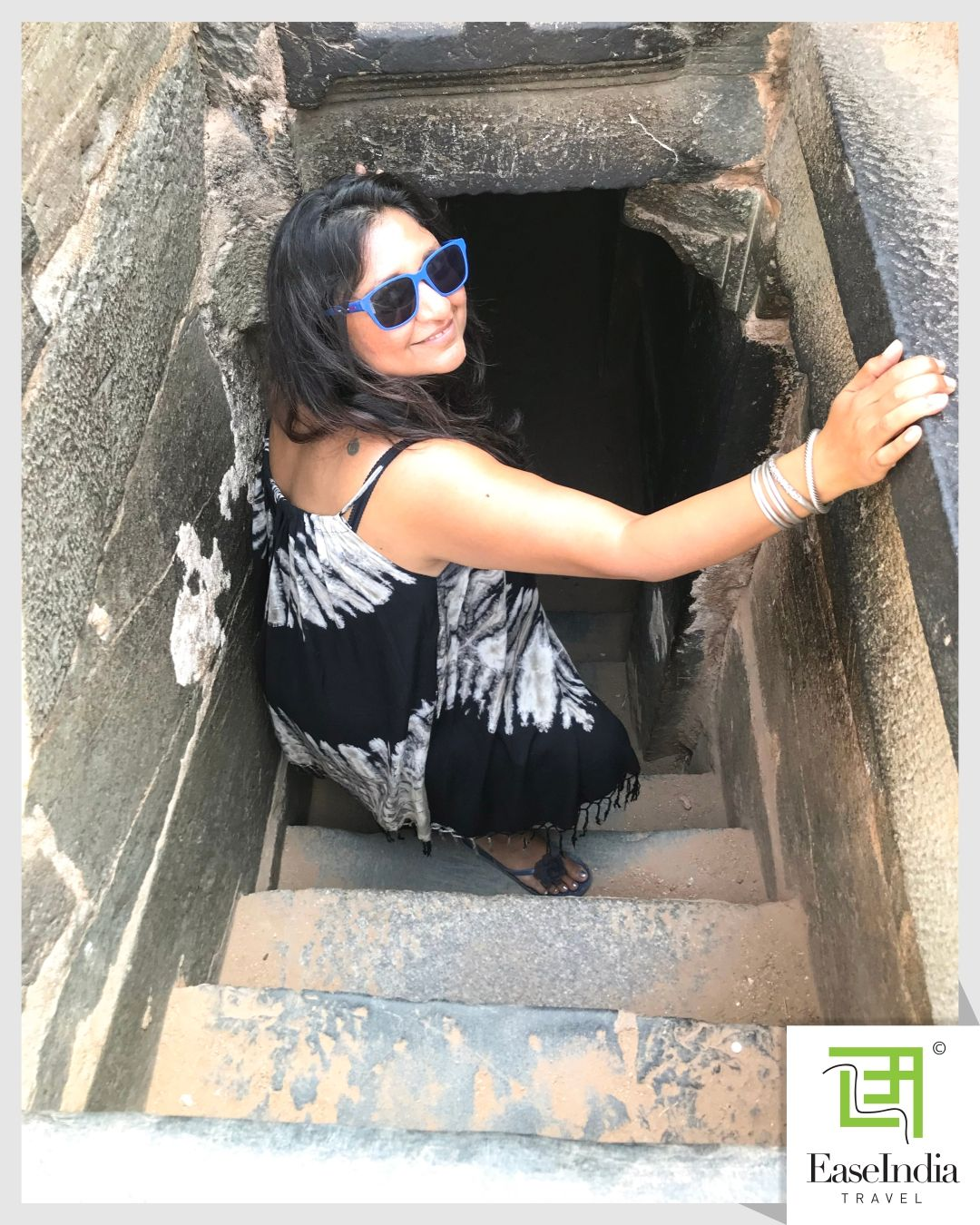 Peeping into the King's Secret Chamber 🤫 of the Vijayanagar Empire in #hampi. - A secret hideaway for the king is a secret underground chamber where king Is supposed to meet his ministers and spies. -  #Hampitravel is waiting for y'all! Right Now your safety and well-being is the foremost important.  #secretchamber #hampitourism #stayhomestaysafe #weareinthistogether #travel #travelust #wanderlust #travelling #traveller #wednesdaywisdom #waybackwednesday #travelbug