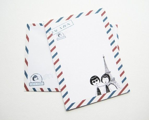 par avion french airmail themed flapper stationery set pdf printables paper stationery mail. Black Bedroom Furniture Sets. Home Design Ideas