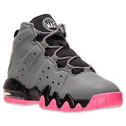 Girls' Preschool Nike Air Max Barkley Basketball Shoes
