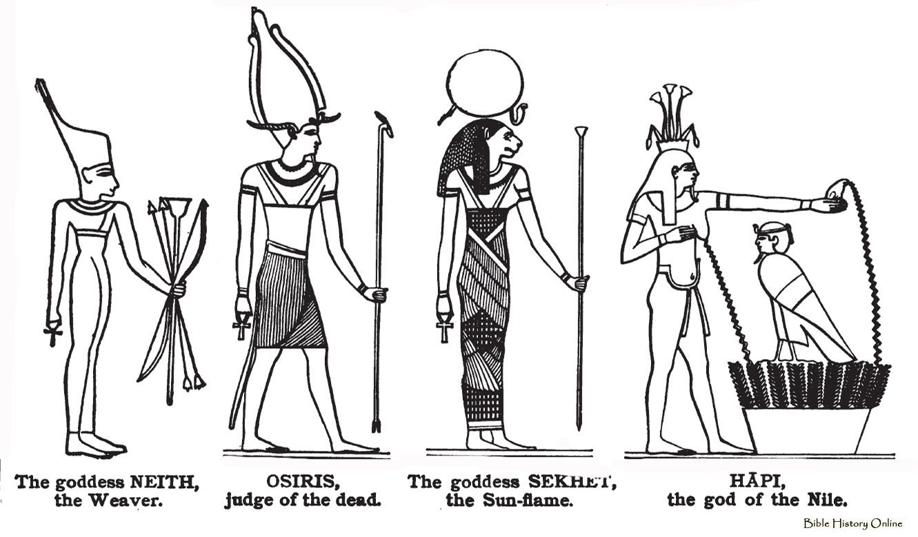 an analysis of deities in the ancient egyptian religion Gods and goddesses - foundation of mythology in ancient cultures egyptian history and creation myths greek history and the religious background of the city-state.