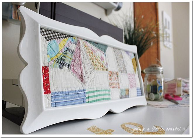 Preserve old or damaged quilt by framing them for display | QUILTS ...