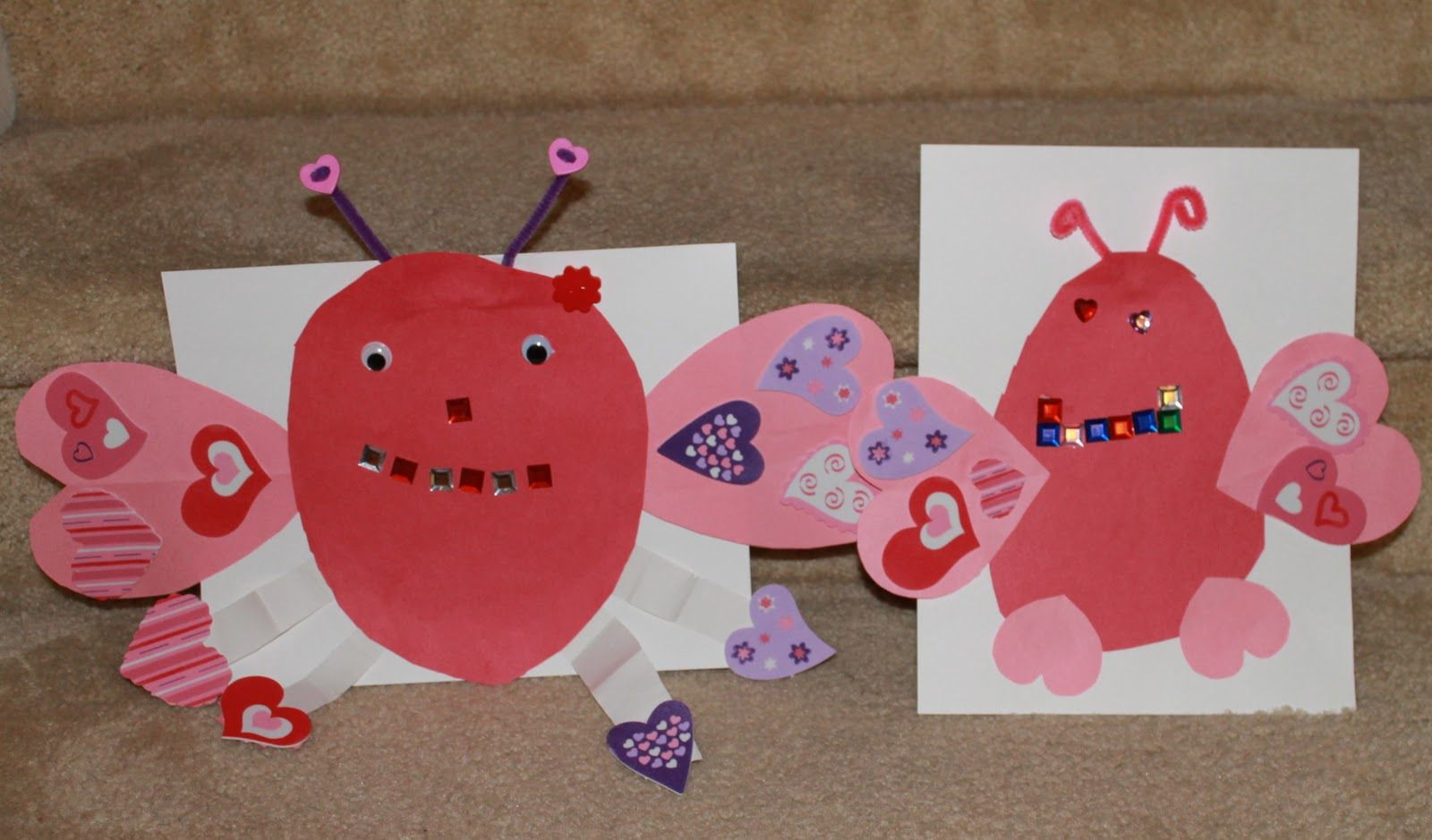 Preschool Valentine Day Crafts. Preschool Crafts For Kids Valentines Day Heart Love Creatures Craft
