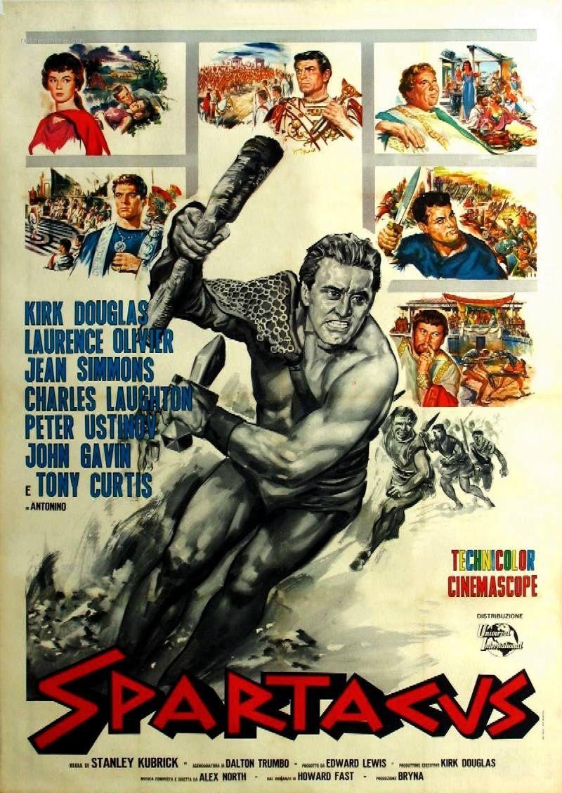 Spartacus Film Historique Films Etrangers Affiche De Film