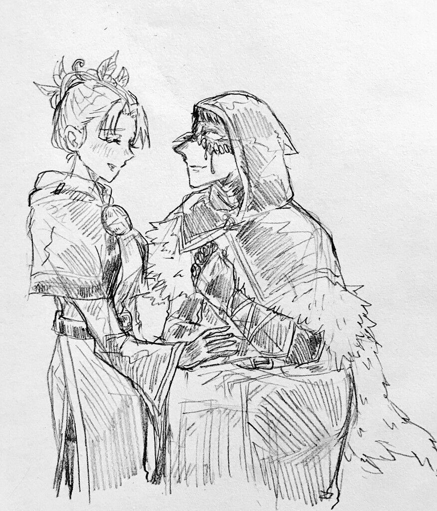 ปักพินโดย Wakakaka ใน Identity V สาวอนิเมะ, คู่รัก