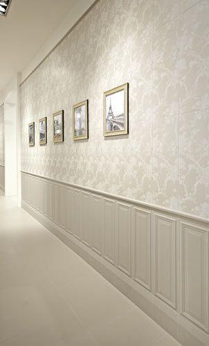 Paredes con molduras molduras victorianas pinterest for Molduras de madera para pared