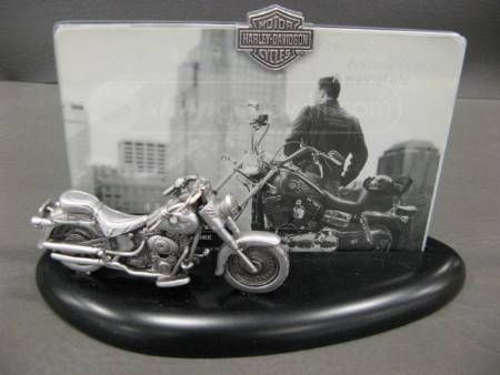 Harley Davidson Motorcycle 4x6 Picture Frame Born To Ride