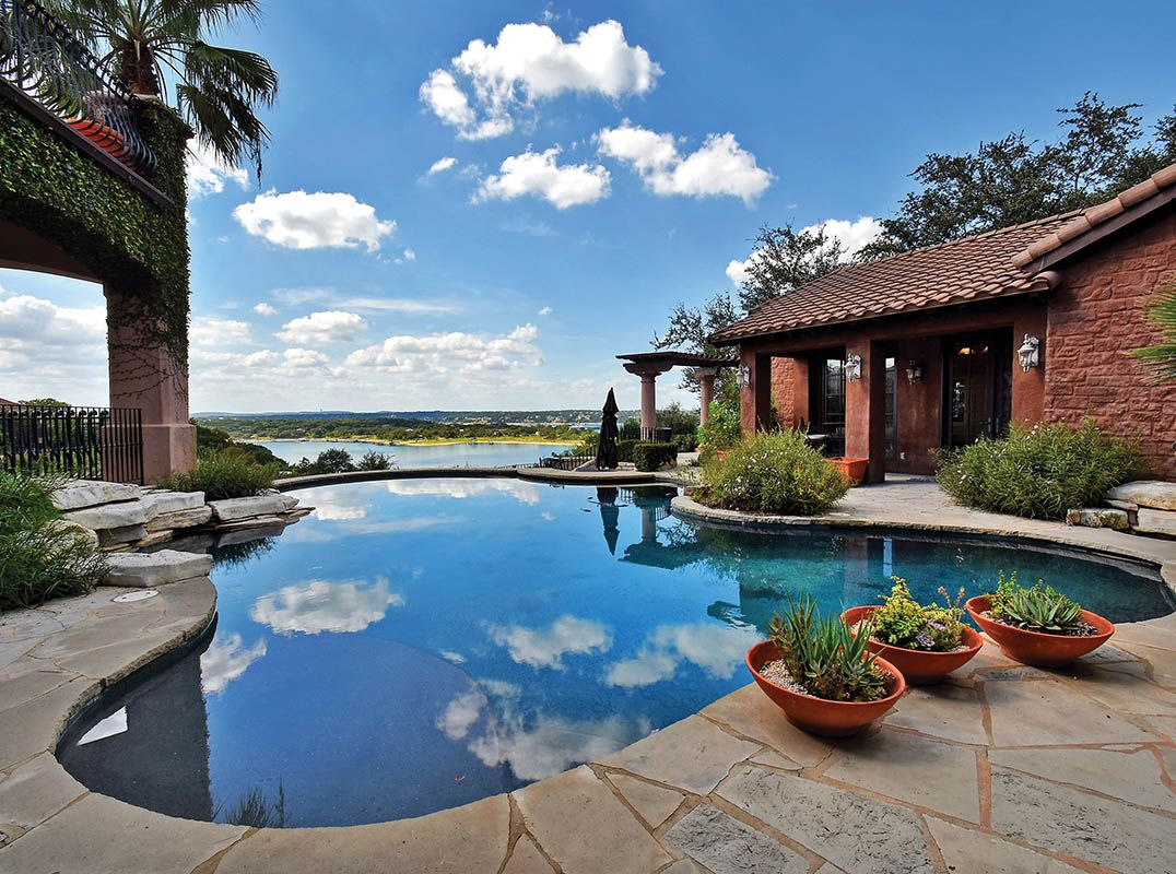Austin Beautiful resort style waterfront oasis in Lakeway Listed by