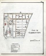 Historic Map Garden City 1 Nassau County 1914 Long Island New
