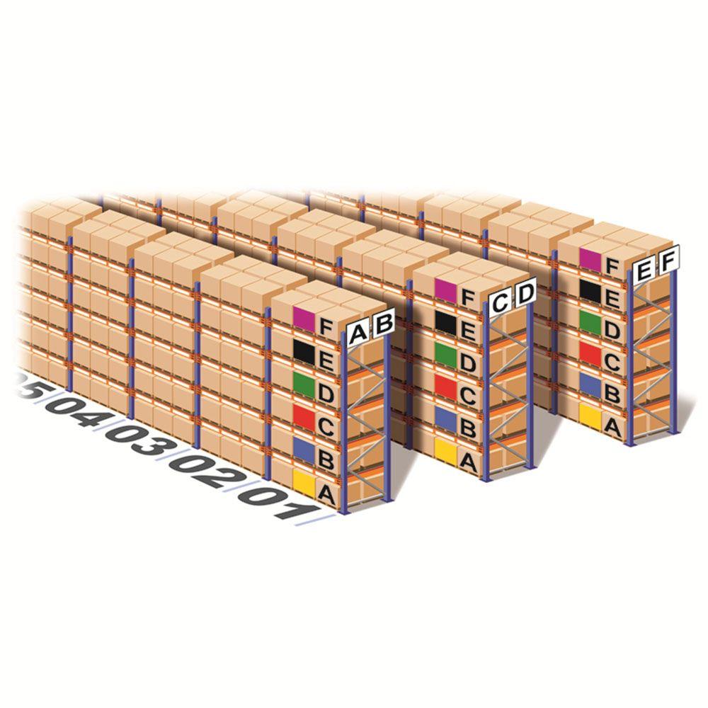 Beam & Shelf location Code Labelling   Espaço de trabalho ...