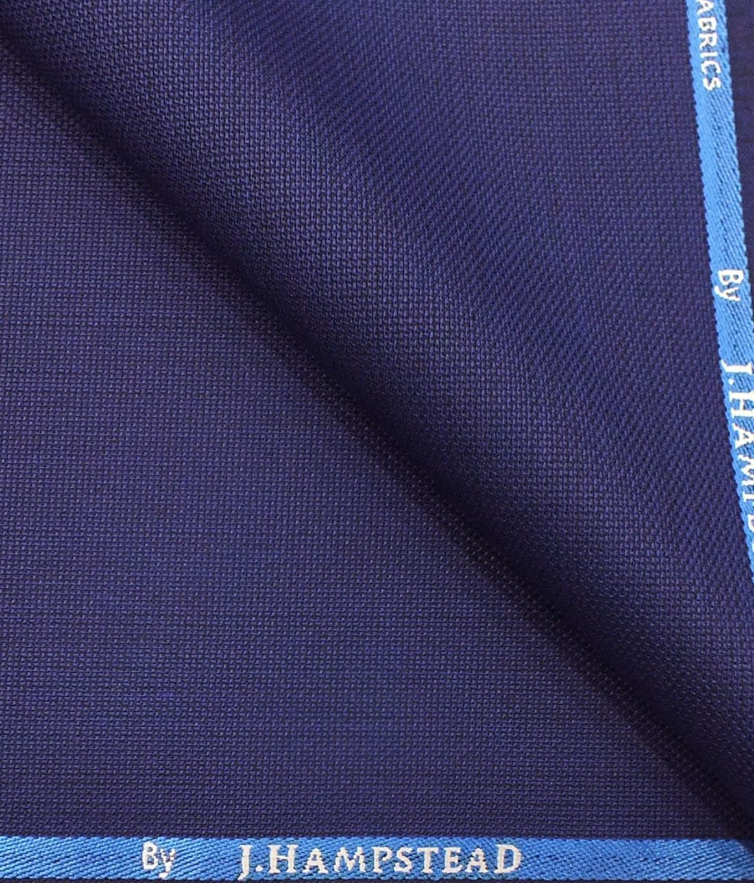 cf67d95a12c J.Hampstead by Siyaram s Men s Bright Royal Blue Structured Poly Viscose Trouser  Fabric (Unstitched - 1.25 Mtr)