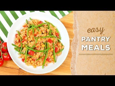 3 easy pantry meals dinner made easy youtube dinner food 3 easy pantry meals dinner made easy youtube forumfinder Image collections