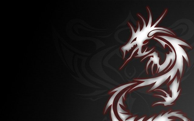 Cool Dragon Tribal