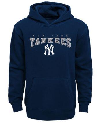 promo code 47322 a3cae Outerstuff New York Yankees Fleece Hoodie, Big Boys (8-20 ...