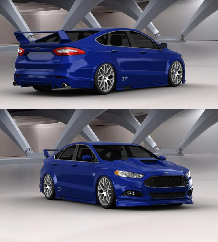 Tuning Of The Ford Mondeo Sedan 15 Ford Motorsport Ford Fusion Ford Fusion Custom