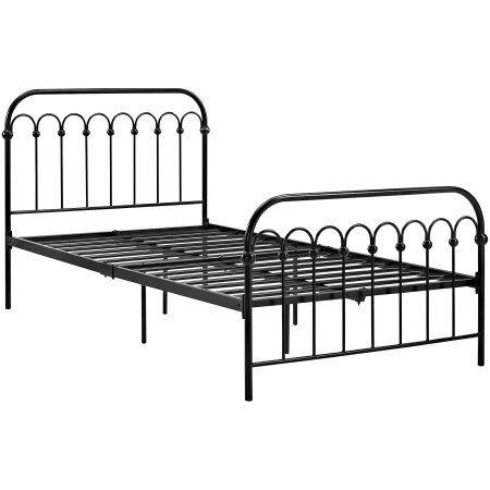 9 by Novogratz Bright Pop Twin Metal Bed, Multiple Colors - Walmart ...