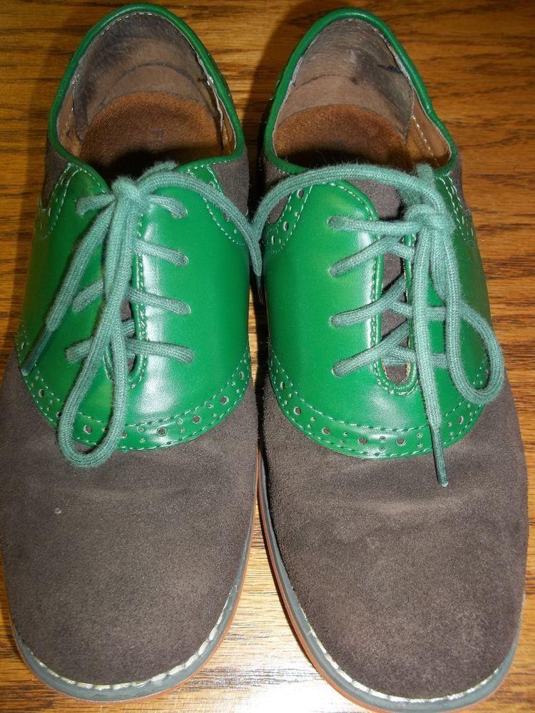 1a37b0eac25b Saddle shoes 3 green oxfords brown Florsheim multi color dress shoes Easter   fFlorsheim  Oxfords