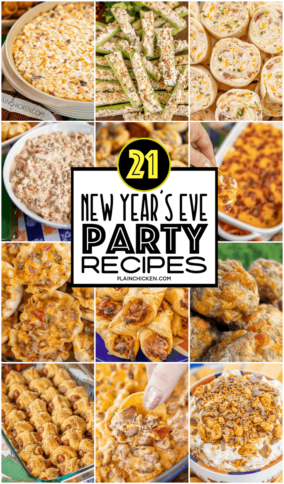 New Year's Eve Party Recipes - Plain Chicken