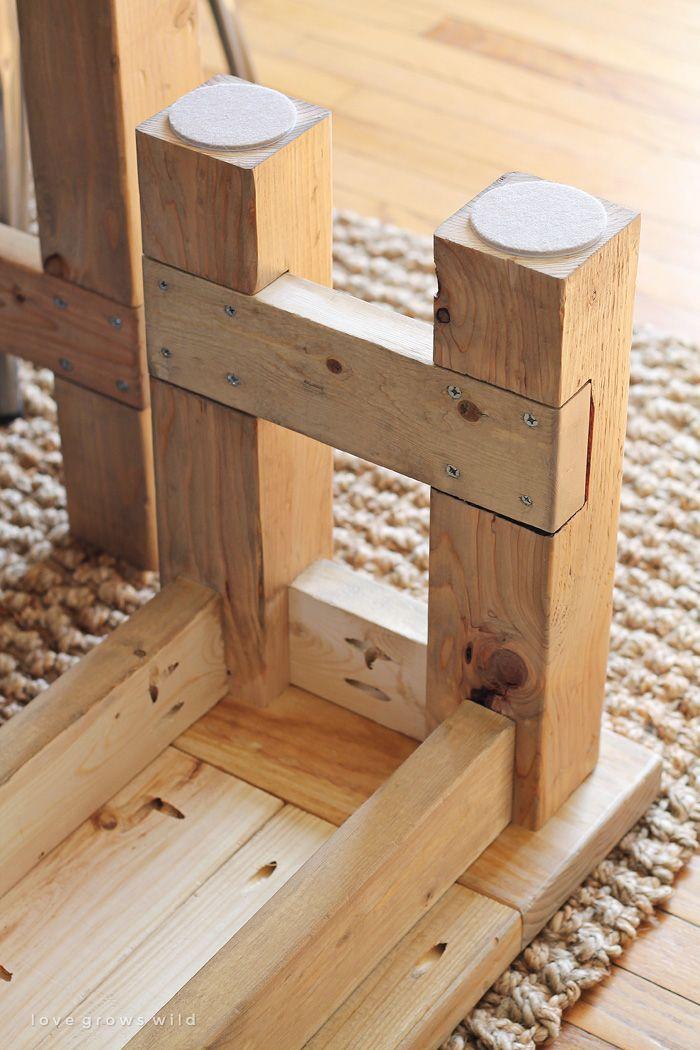 Diy Farmhouse Bench Platform Beds Farmhouse Table