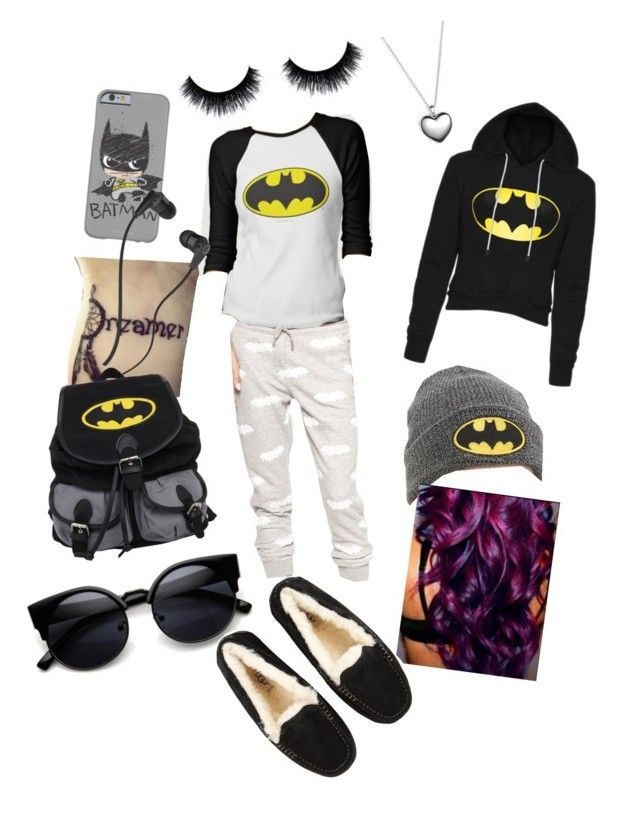 """""""Lazy Day"""" by justagirlnooneknows on Polyvore featuring Skullcandy, Pandora, UGG Australia, women's clothing, women, female, woman, misses and juniors"""