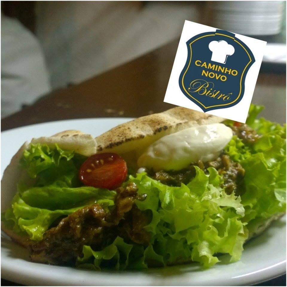 Dica para degustar o melhor em sanduíche de pernil com alface, tomate cereja e maioense na cidade de Miguel Pereira-RJ. Caminho Novo Bistrô simplesmente sensacional. Sanduíche com pão Pita Bread vira um Piiiiiiita Sanduíche!!! #CaminhoNovoBistrô #MiguelPereira #Beirute #PitaBread #Saudável