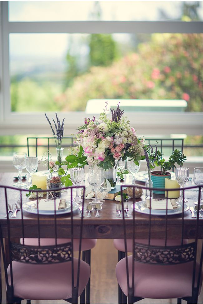 Beautiful Wedding Inspiration at Ali'i Kula Lavender Farm / Mykle Coyne Photography