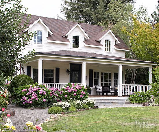 Cape Cod Style Home Ideas Maison Americaine Idee Plan