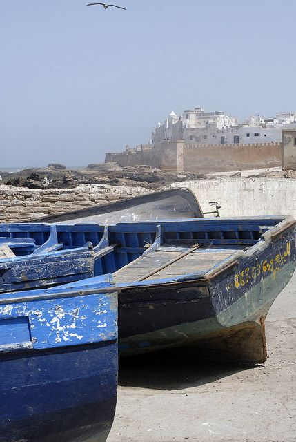 """Advent Calendar"" of great destinations for 2013 - No 6 - The hip coastal resort of Essaouira, Morocco offers a unique location great for beach lovers and surfers. For refined elegance and traditional North African charm how about a stay at Heure Bleue Palais,  Essaouira? We'll see you there!!"