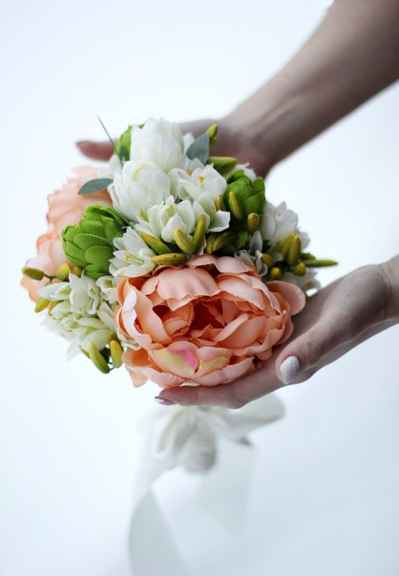 Wedding Bouquet Bridal Bouquet Floral Bouquet by AlookFlowers