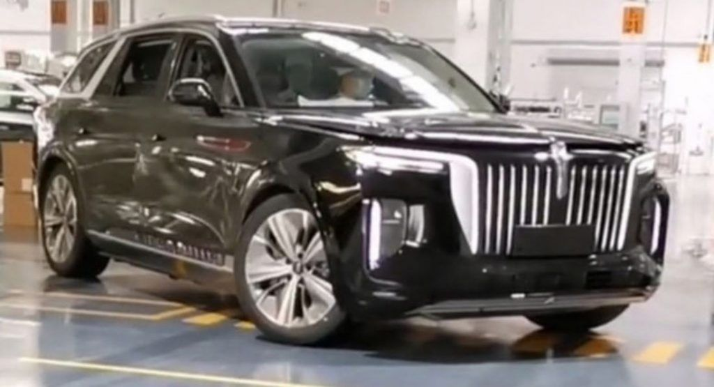 Hongqi S Bmw X7 Sized All Electric Suv Hitting Production As The E Hs9 Carscoops In 2020 Bmw X7 Suv Bmw