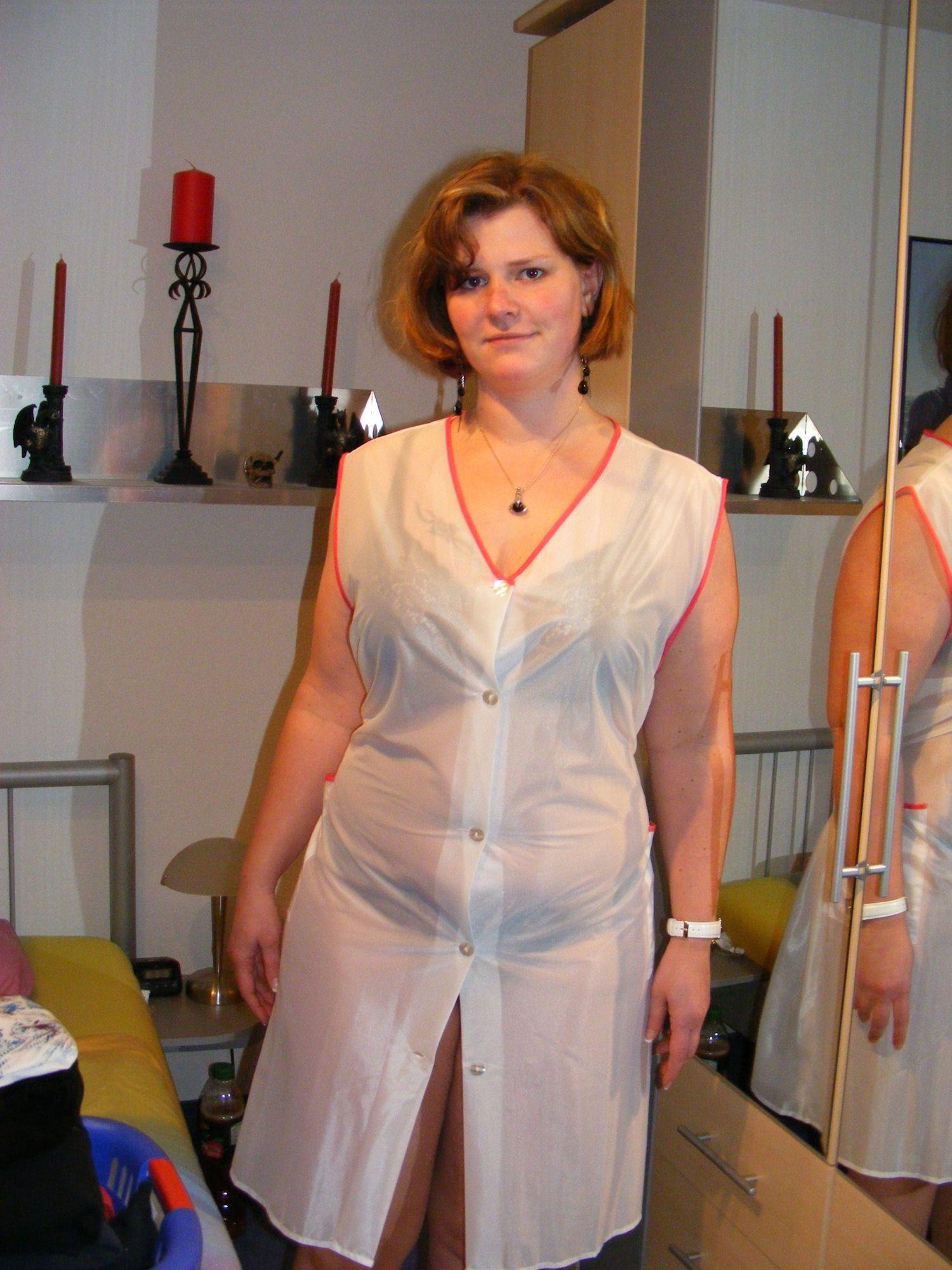 Nylons Anziehen
