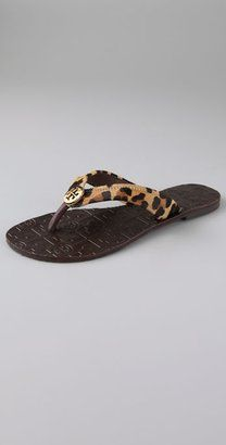 643f80318 ShopStyle  Tory Burch Thora Flat Thong Sandals on Flexible Sole ...