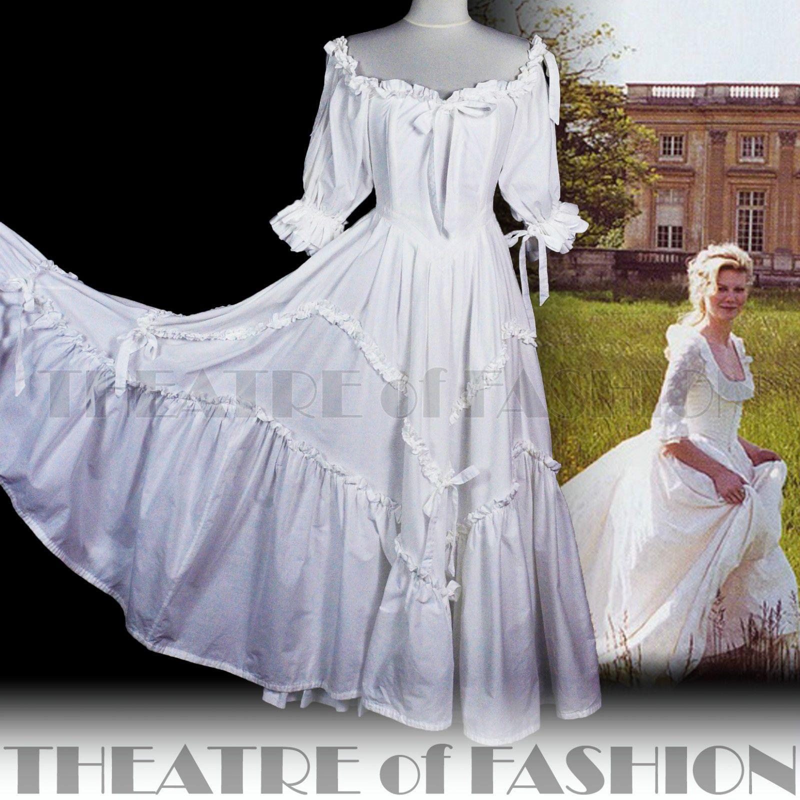 Vintage Laura Ashley Dress Wedding White Ballgown 70s Boho Gypsy ...