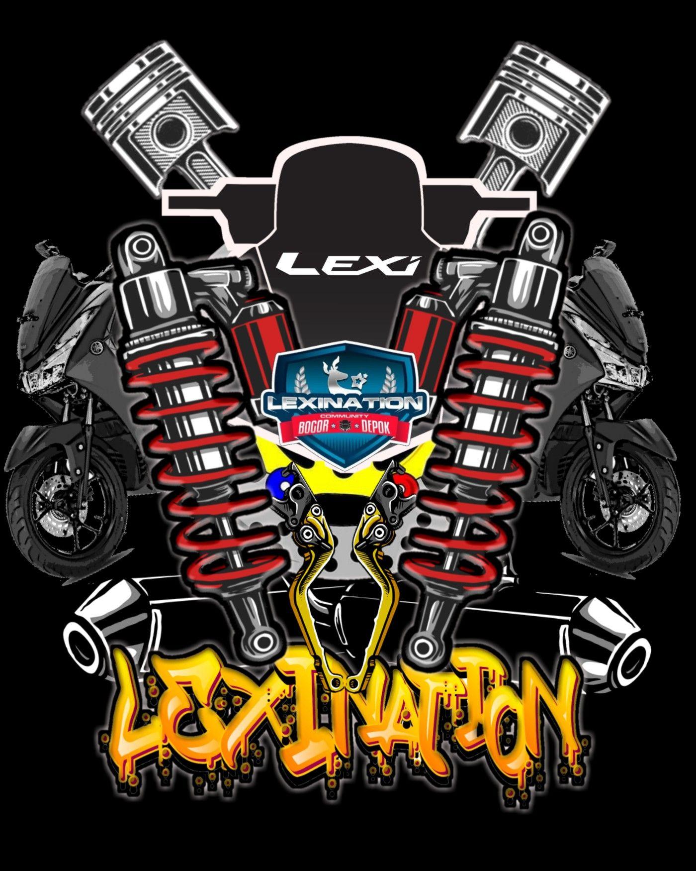 Nmax Logo Png : Lexination, Thailook, Design,, Motorcycles, Vector, Design