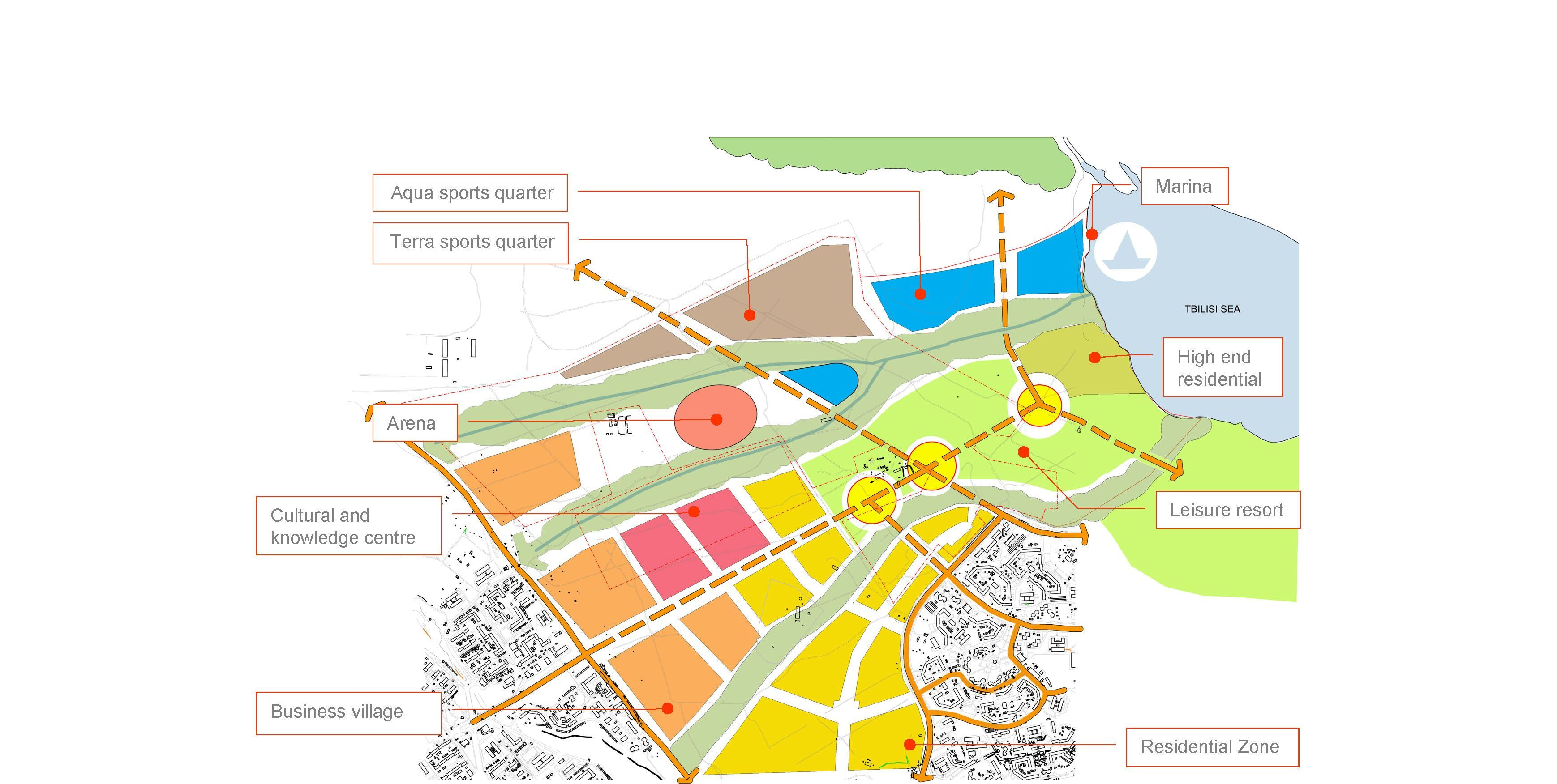 Zoning urban planning and architecture pinterest for Architecture zoning diagram