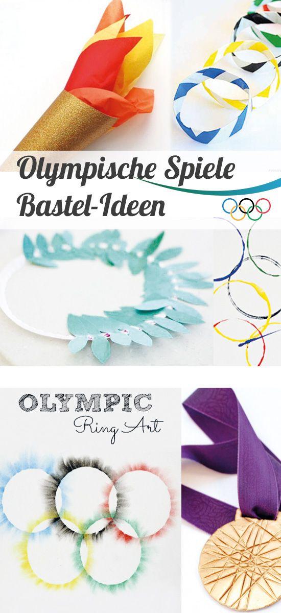 Party Ideen Fur Die Olympischen Spiele Sommer Diy Bastelideen