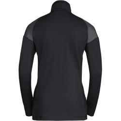 Photo of Vaude Damen Bormio Zip-Shirt (Größe Xl, Schwarz) | Longsleeves Funktion > Damen VaudeVaude