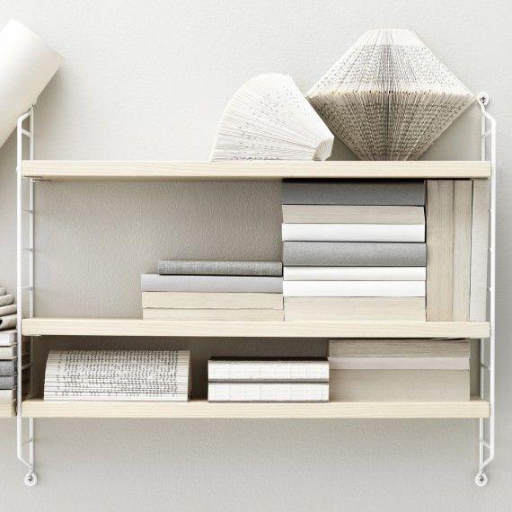 Pockethylla String ask / vit - Designtorget