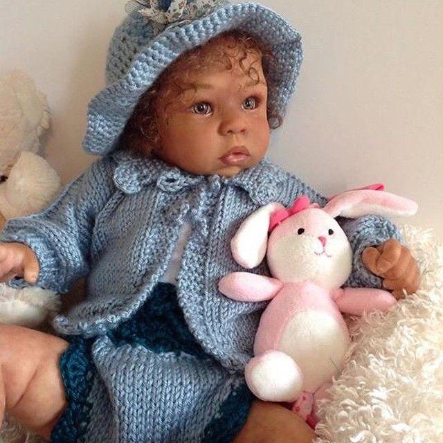 """""""#my #reborn #baby #dolls #pretty #love #beauty #art #2014 #hair #lips #pink #like #follow"""""""