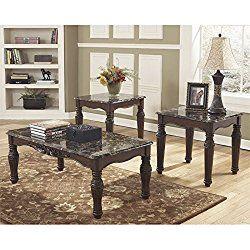 Ashley Furniture Signature Design North Shore Occasional Table Set