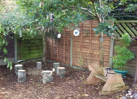Let the children play ideas for adding natural elements to your outdoor play space part 1 - Natural playgrounds for children ...
