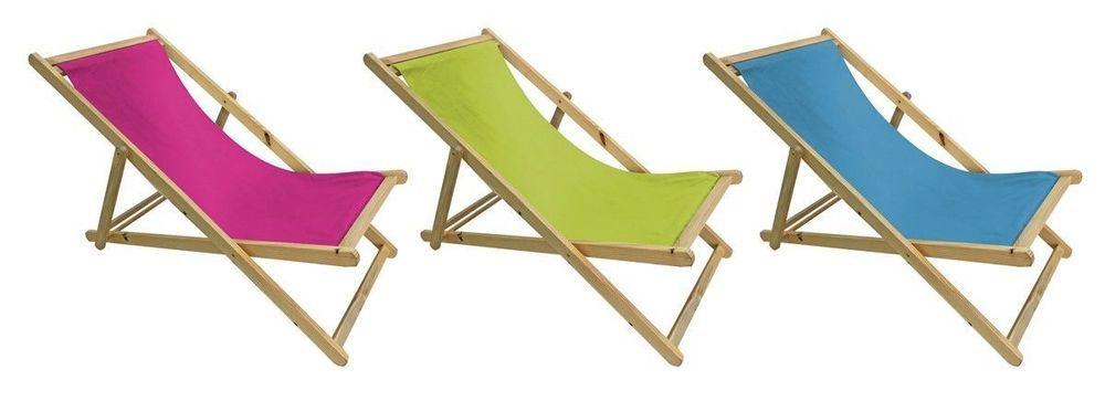 Strandsessel Sonnen Liege Garten Camping Sessel V Lex Naturholz