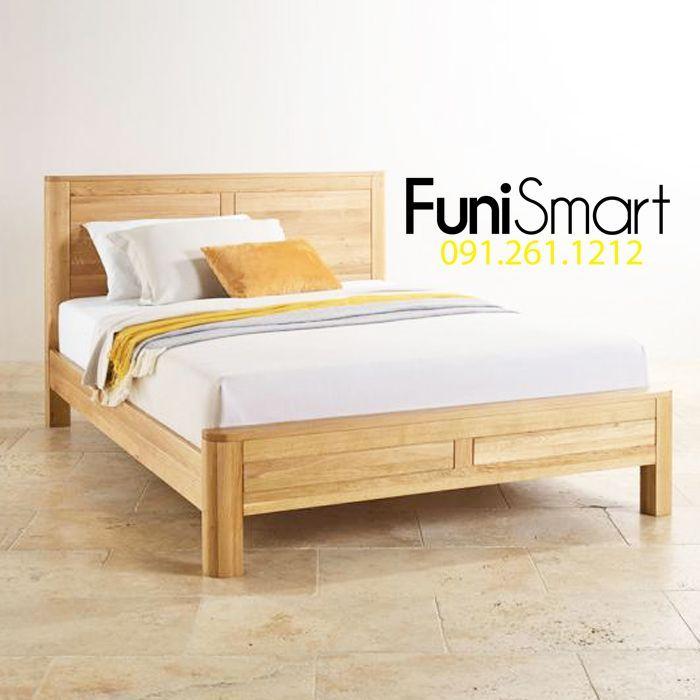 Good price oak bed FNGN04